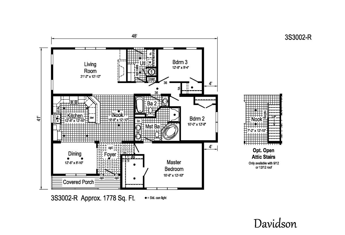 Summit - Davidson 3S3002-R