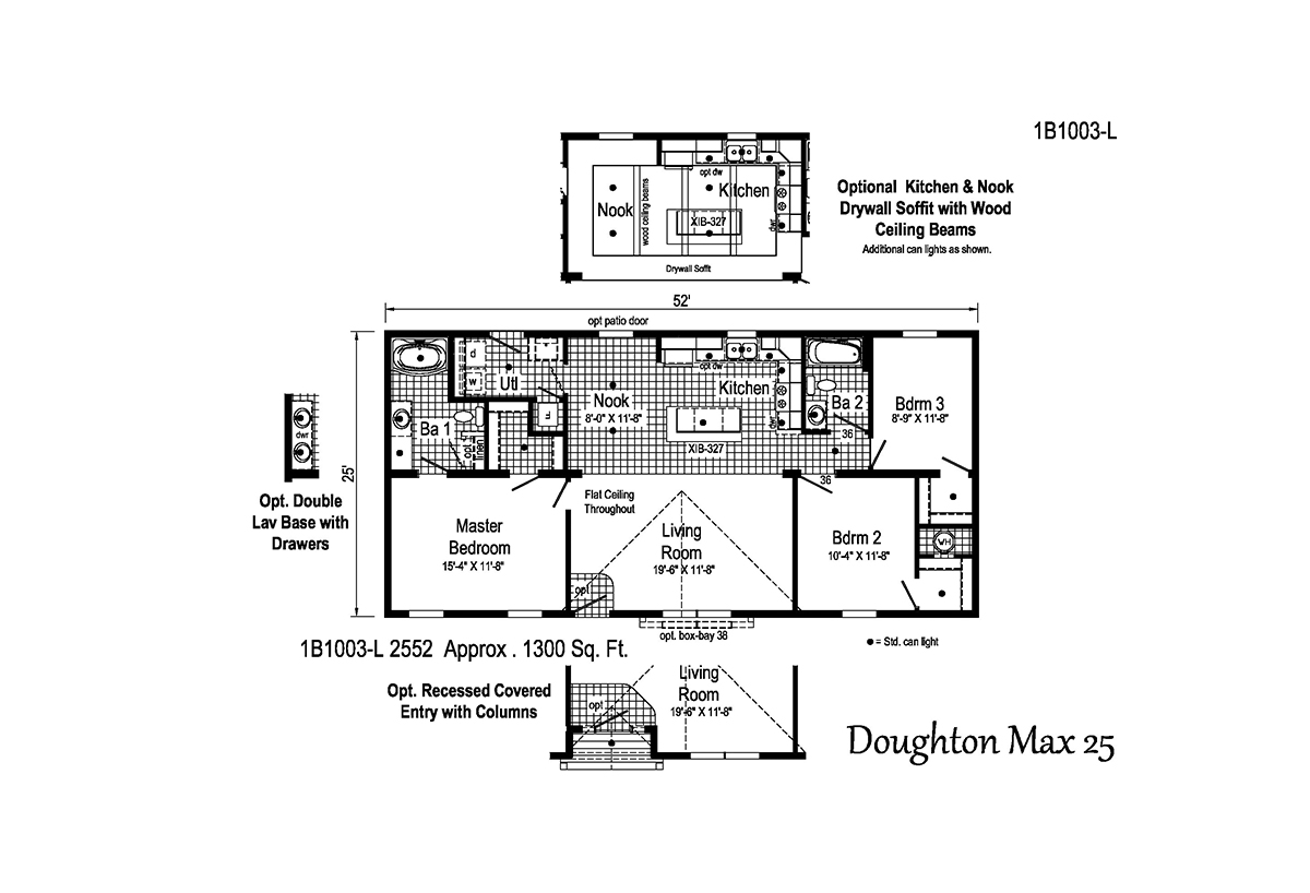 Blue Ridge MAX Doughton Max 25 1B1003-L Layout