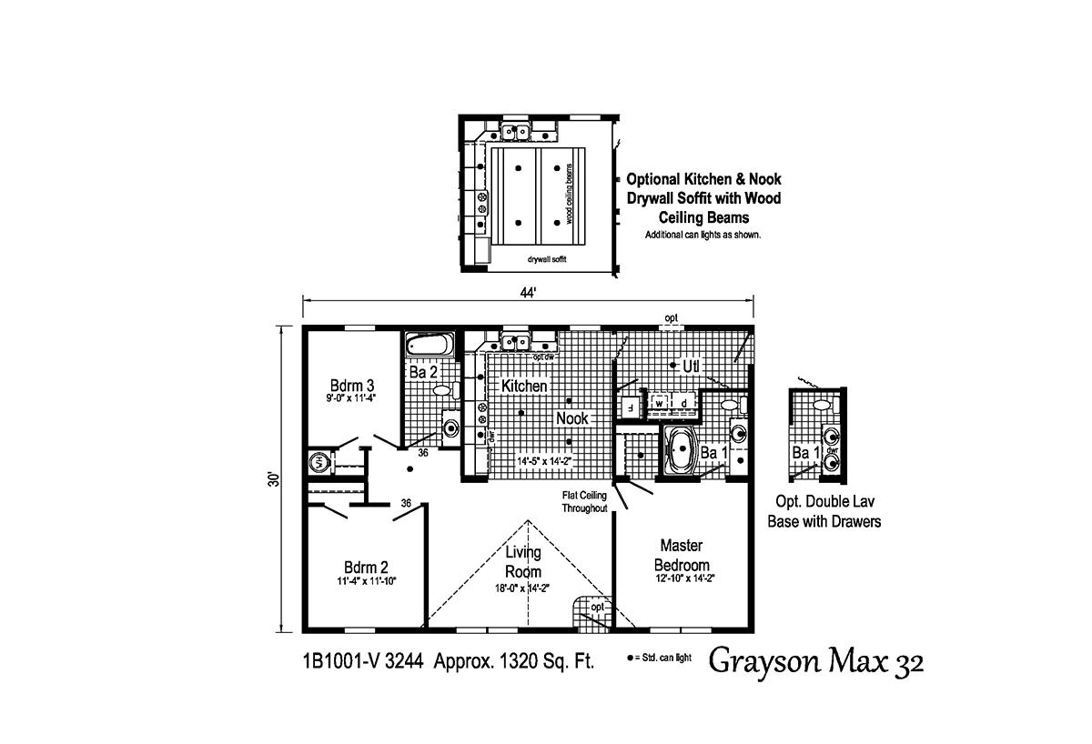Blue Ridge MAX - Grayson Max 32 1B1001-V