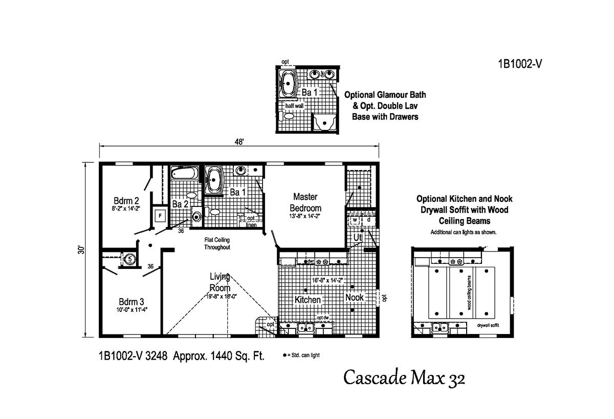 Blue Ridge MAX - Cascade Max 32 1B1002-V