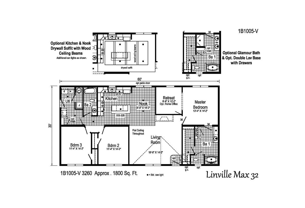 Blue Ridge MAX - Linville Max 32 1B1005-V