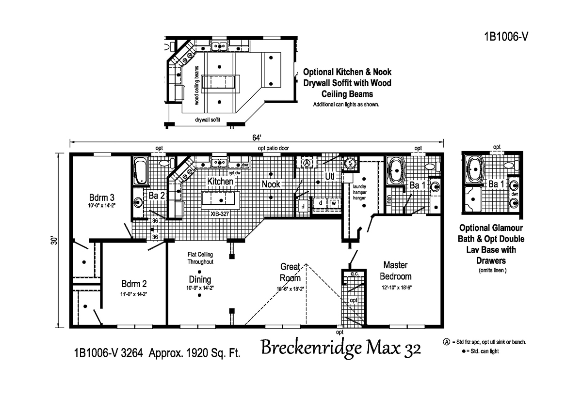 Blue Ridge MAX - Breckenridge Max 32 1B1006-V