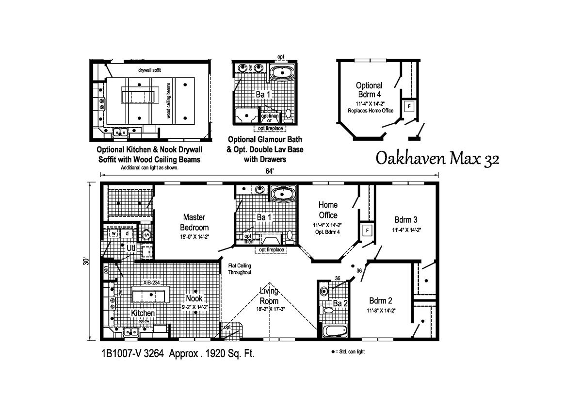 Blue Ridge MAX - Oakhaven Max 32 1B1007-V