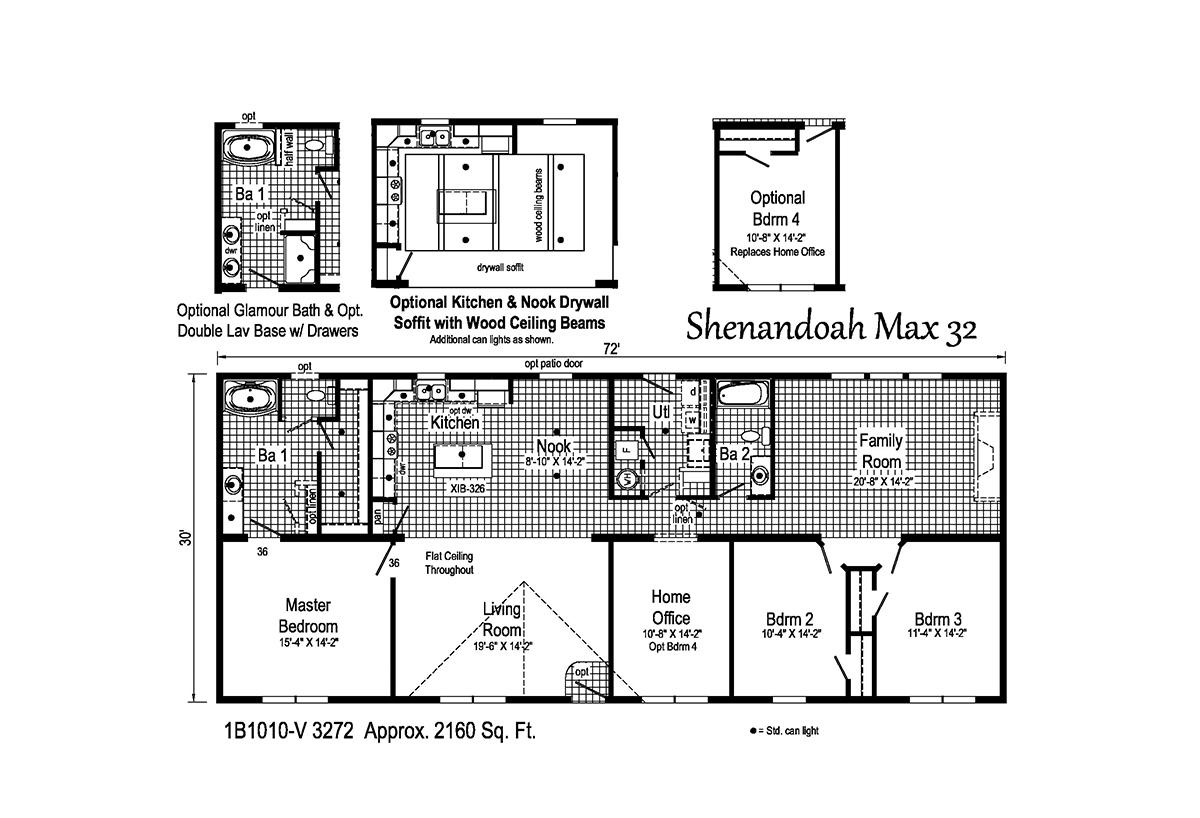 Blue Ridge MAX - Shenandoah Max 32 1B1010-V