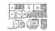 Blue Ridge MAX Mabry Max 28 1B1011-R Layout