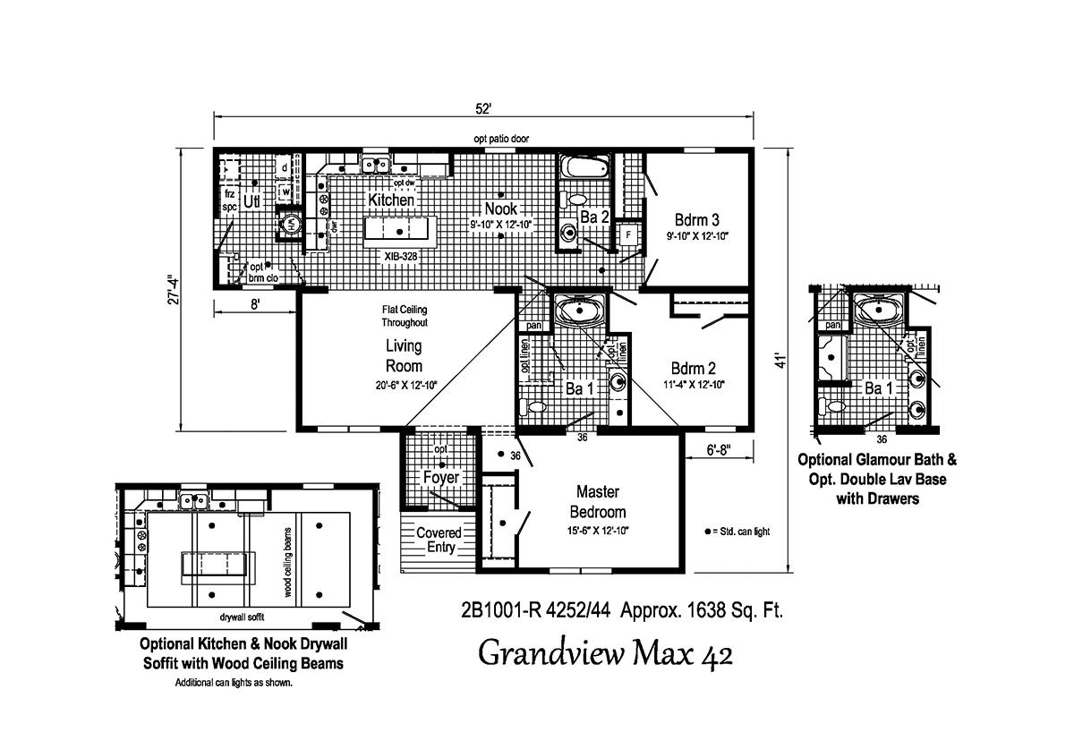 Blue Ridge MAX - Grandview Max 42 2B1001-R