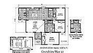 Blue Ridge MAX Grandview Max 42 2B1001-R Layout