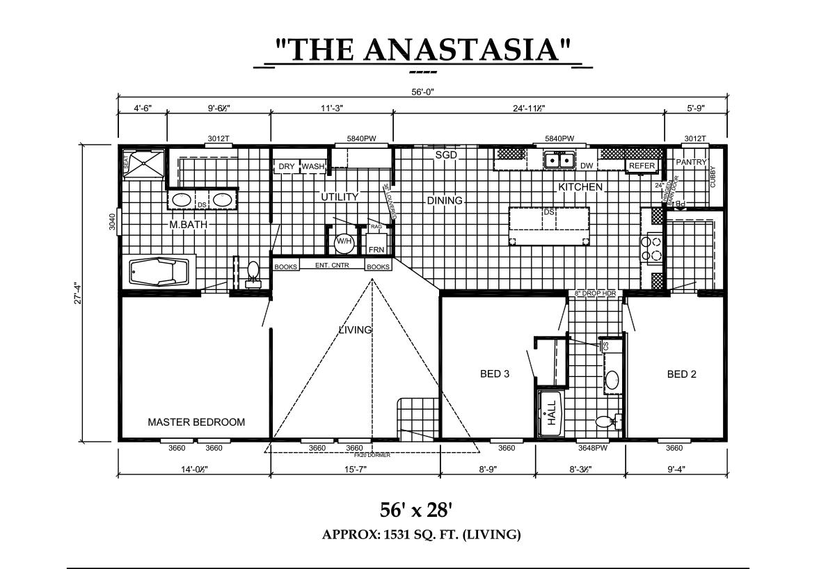 Estates Series - The Anastasia