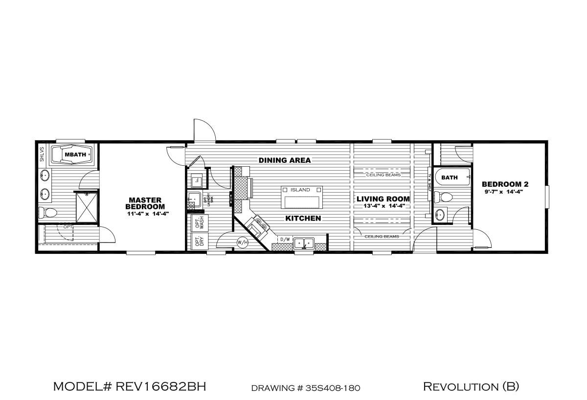 Revolution Revolution B 35REV16682BH Layout