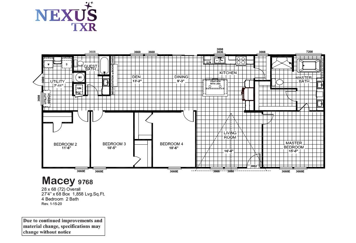 Nexus TXR - Macey 9768