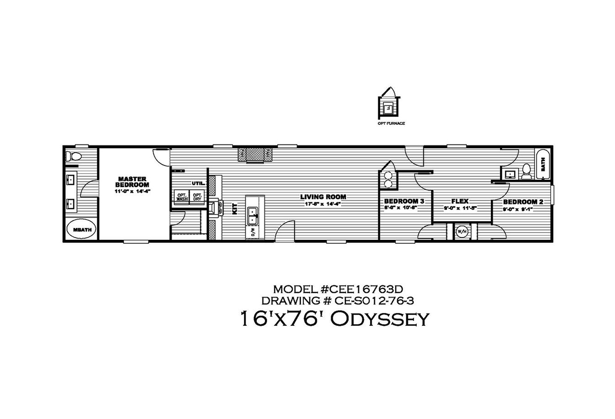 Epic Experience The Odyssey 30CEE16763DH Layout