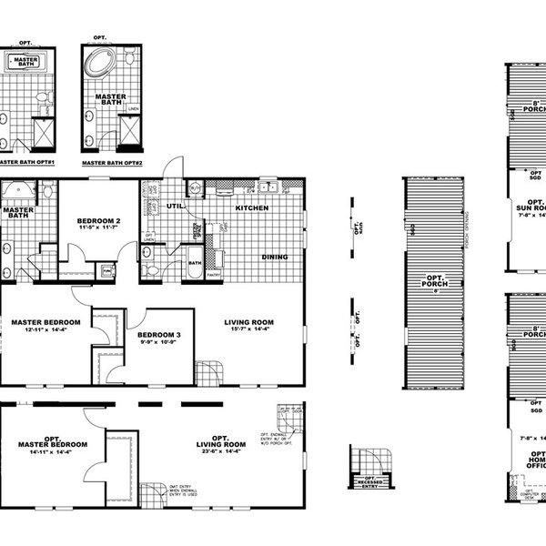 Developer The Hogan 32 - Texas Built Mobile Homes