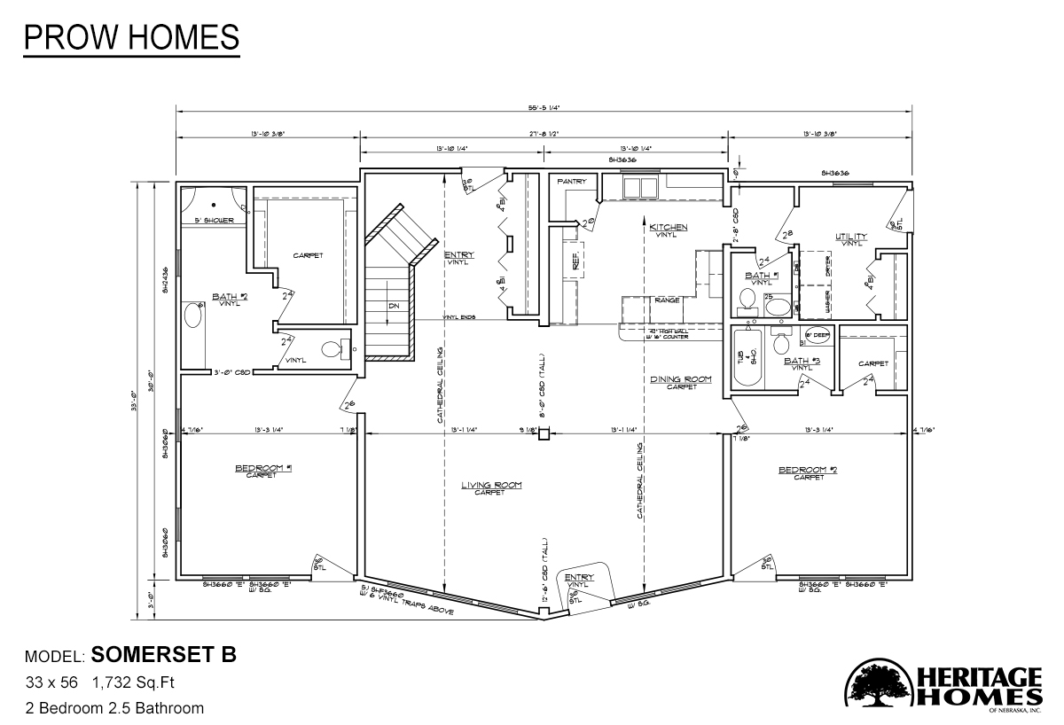 Prow Homes Somerset B Alpine Homes