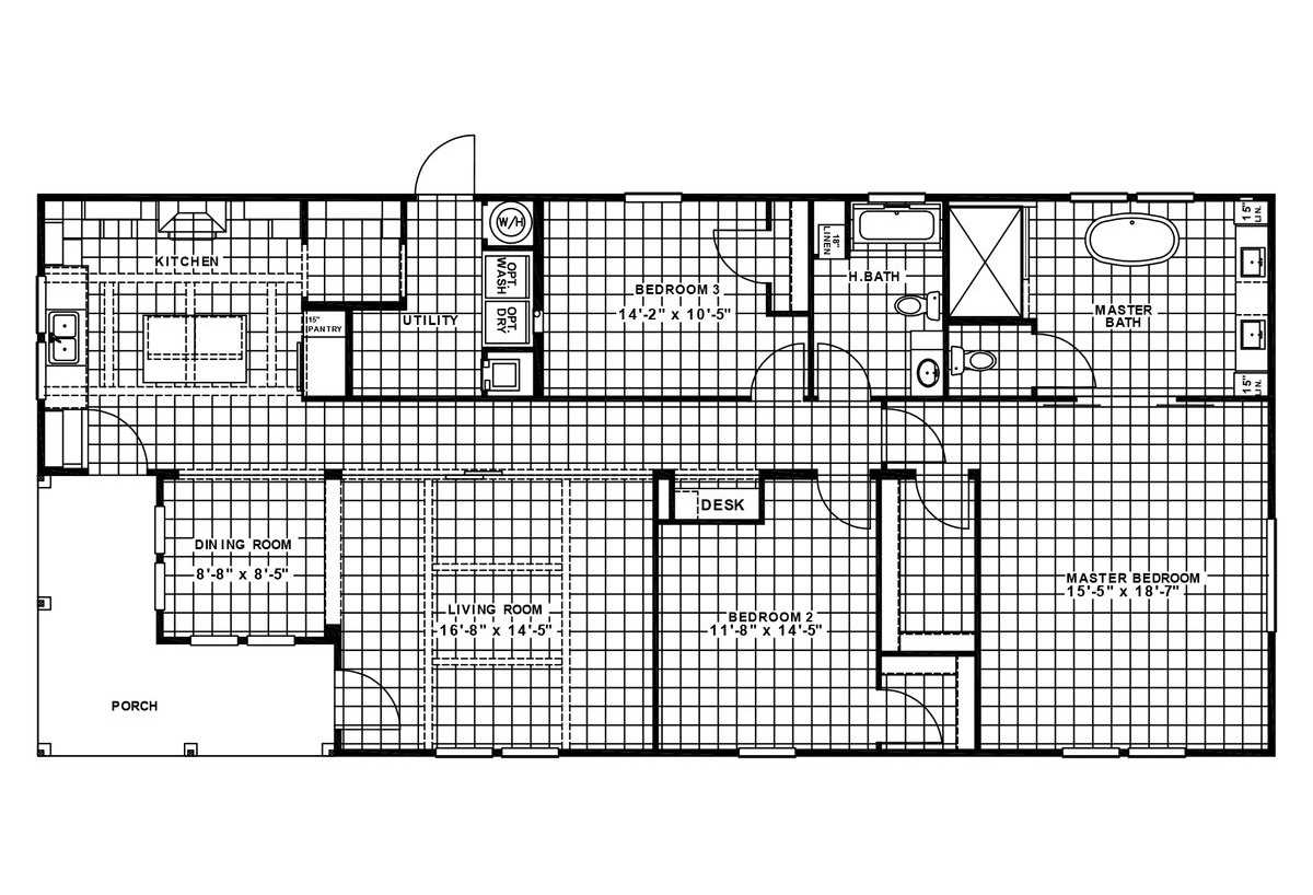 Elite The Southern Charm Layout
