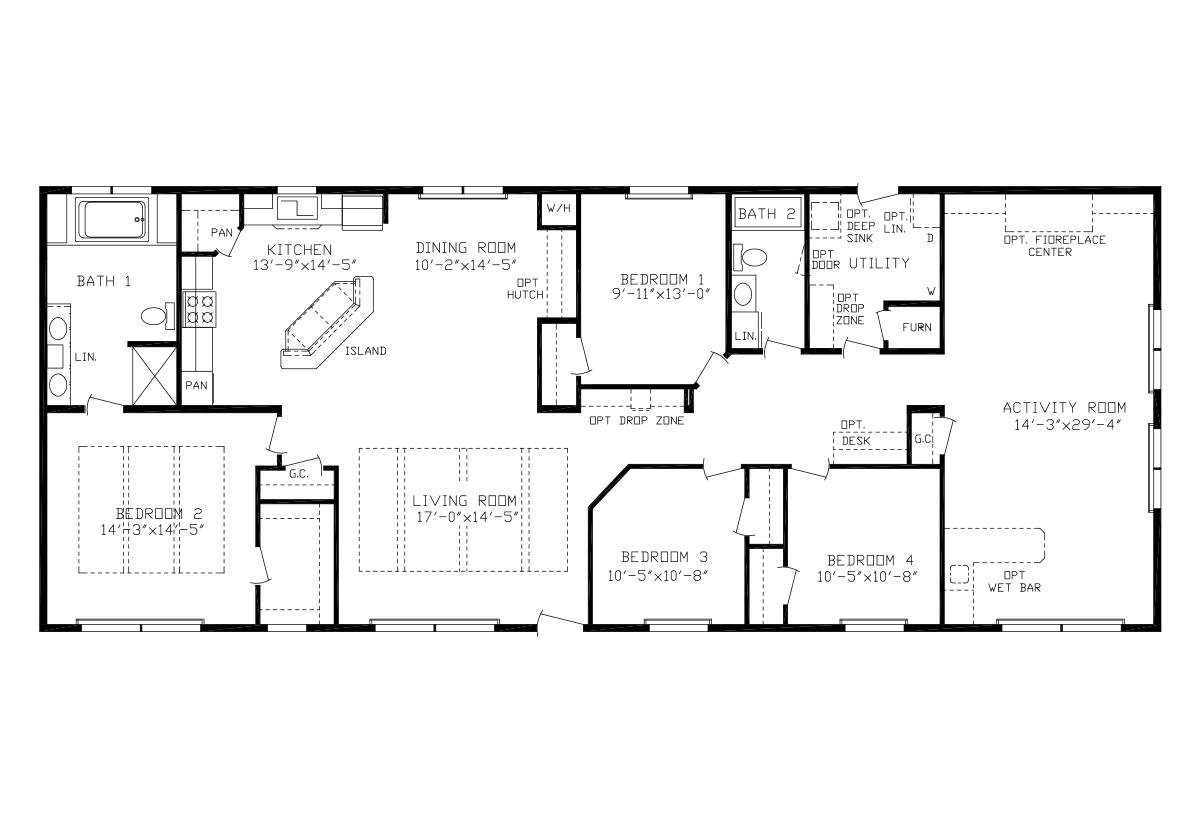 Showcase MW - The Timber Lodge Flat Floor