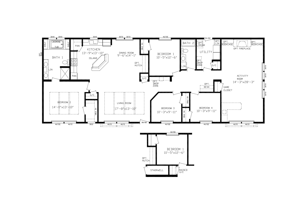 Showcase MW - The Timber Lodge Flat Floor Modular