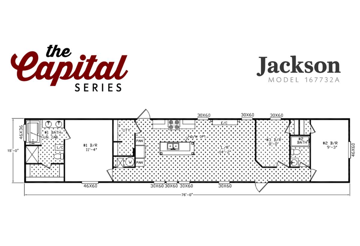 Capital Series - The Jackson 167632A
