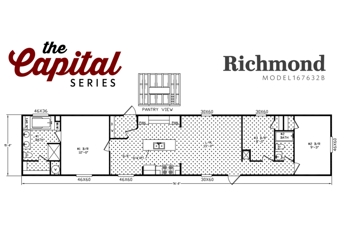 Capital Series - The Richmond 167632B
