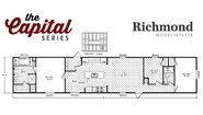 Capital Series The Richmond 167632B Layout