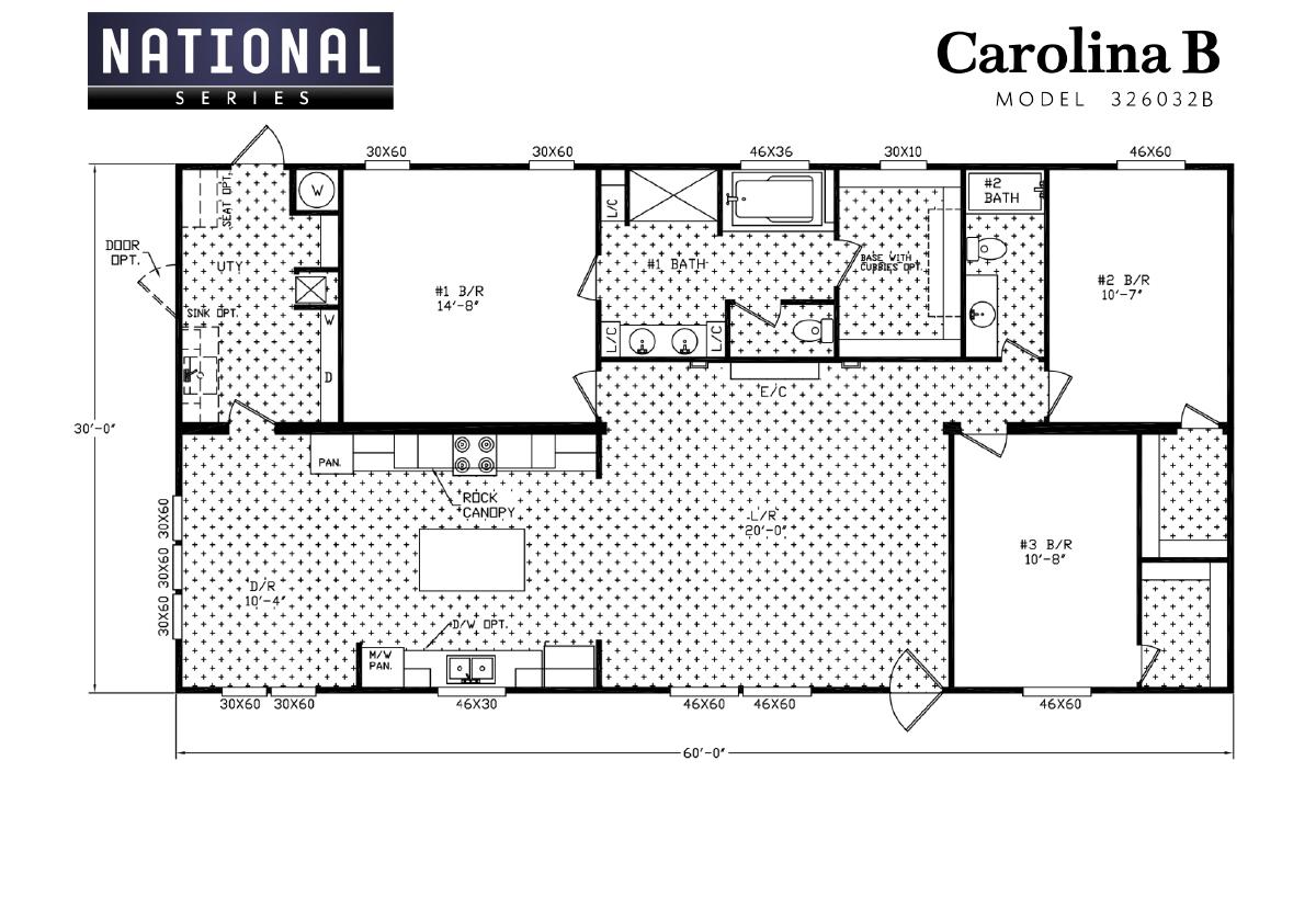 National Series - The Carolina B 326032B