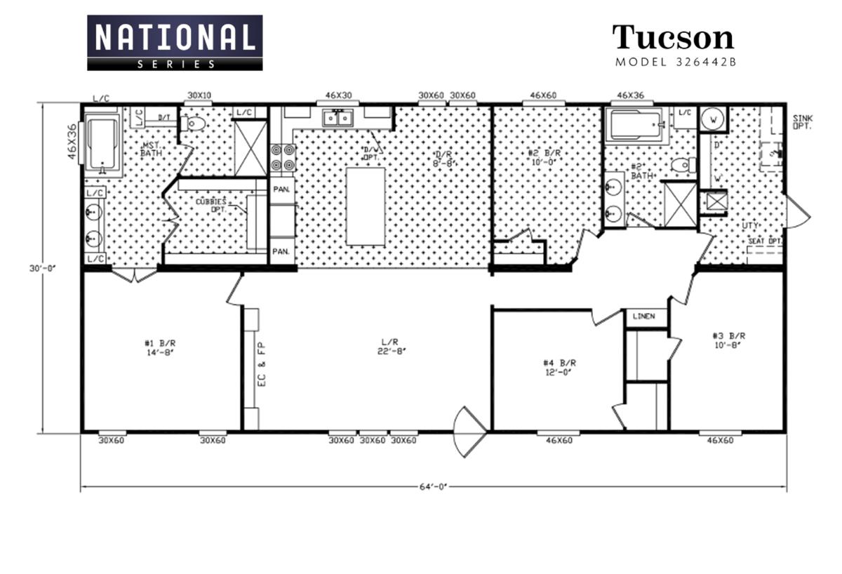 National Series - The Tucson 326442B