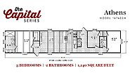 Capital Series The Athens 167632H Layout