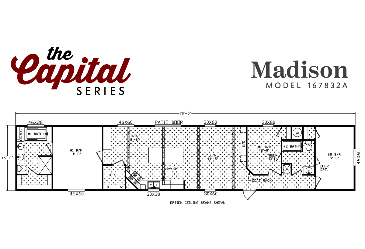 Capital Series - The Madison 167832A