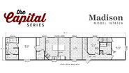 Capital Series The Madison 167832A Layout