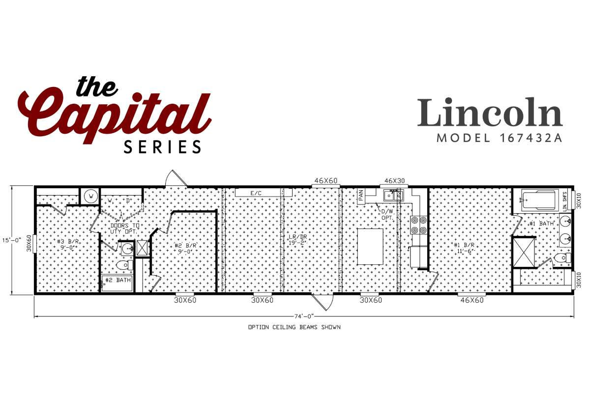 Capital Series The Lincoln 167432A Layout