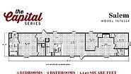 Capital Series The Salem 167632K Layout