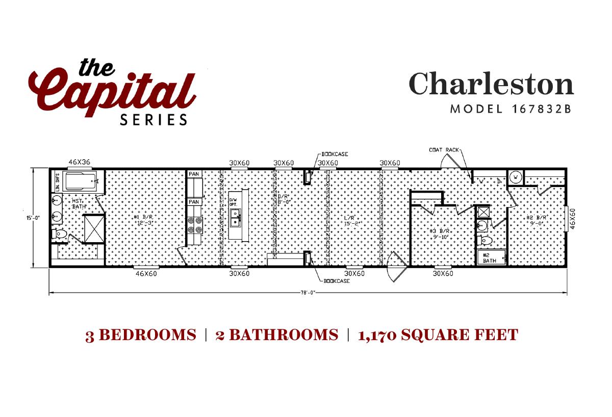 Capital Series The Charleston 167832B Layout