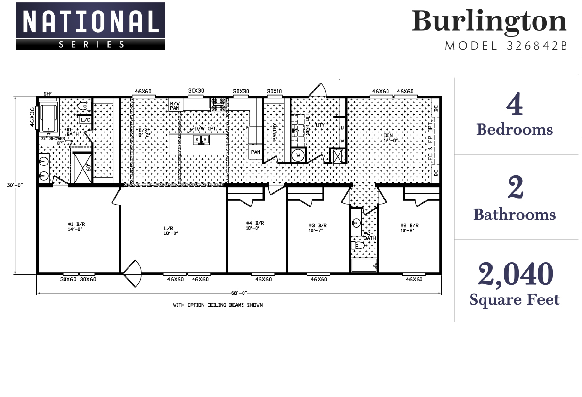 National Series - The Burlington 326842B