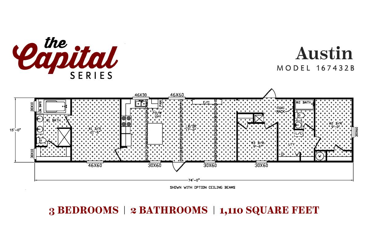 Capital Series The Austin 167432B Layout