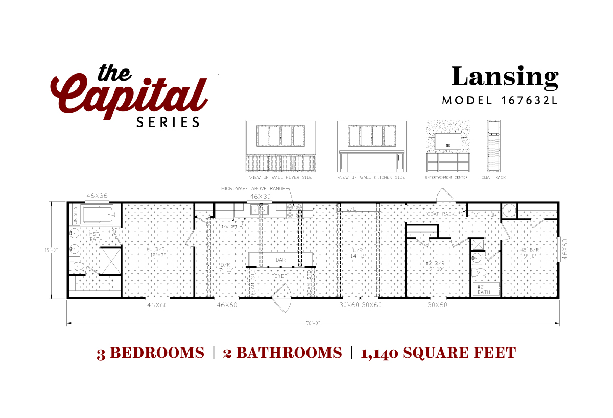 Capital Series - The Lansing 167632L