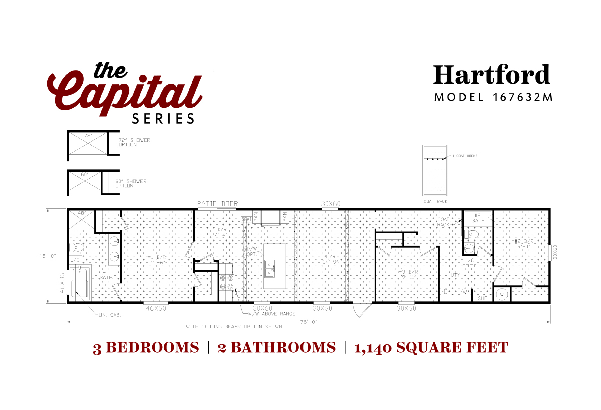 Capital Series The Hartford 167632M Layout