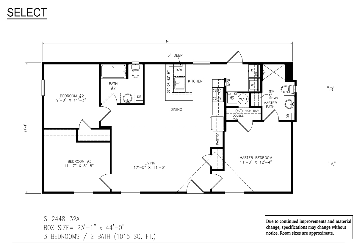 Floor Plan Detail Discover Modular Homes