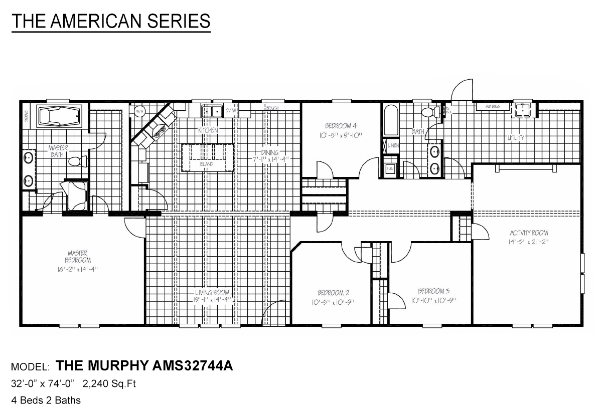 The American Series The Murphy Layout