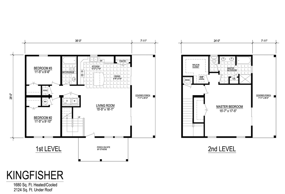 Two Story Collection Kingfisher Layout