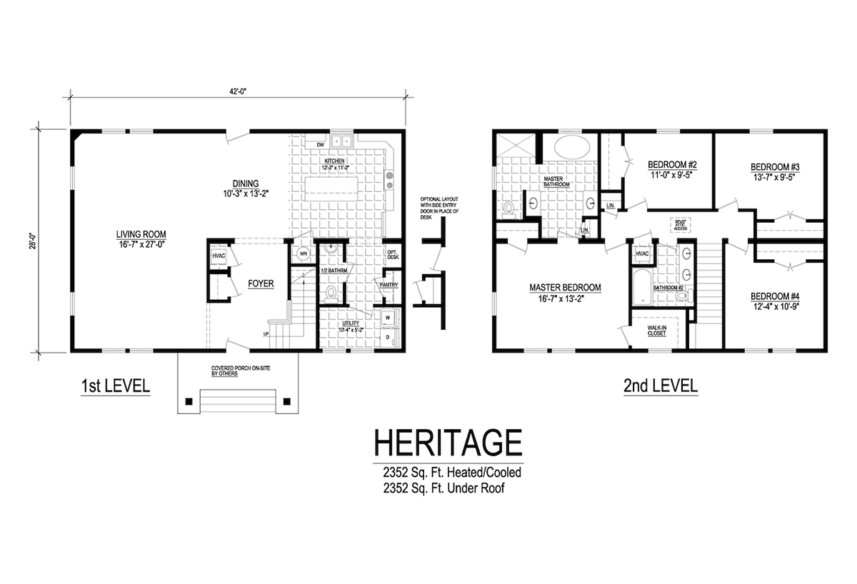 Two Story Collection Heritage Layout