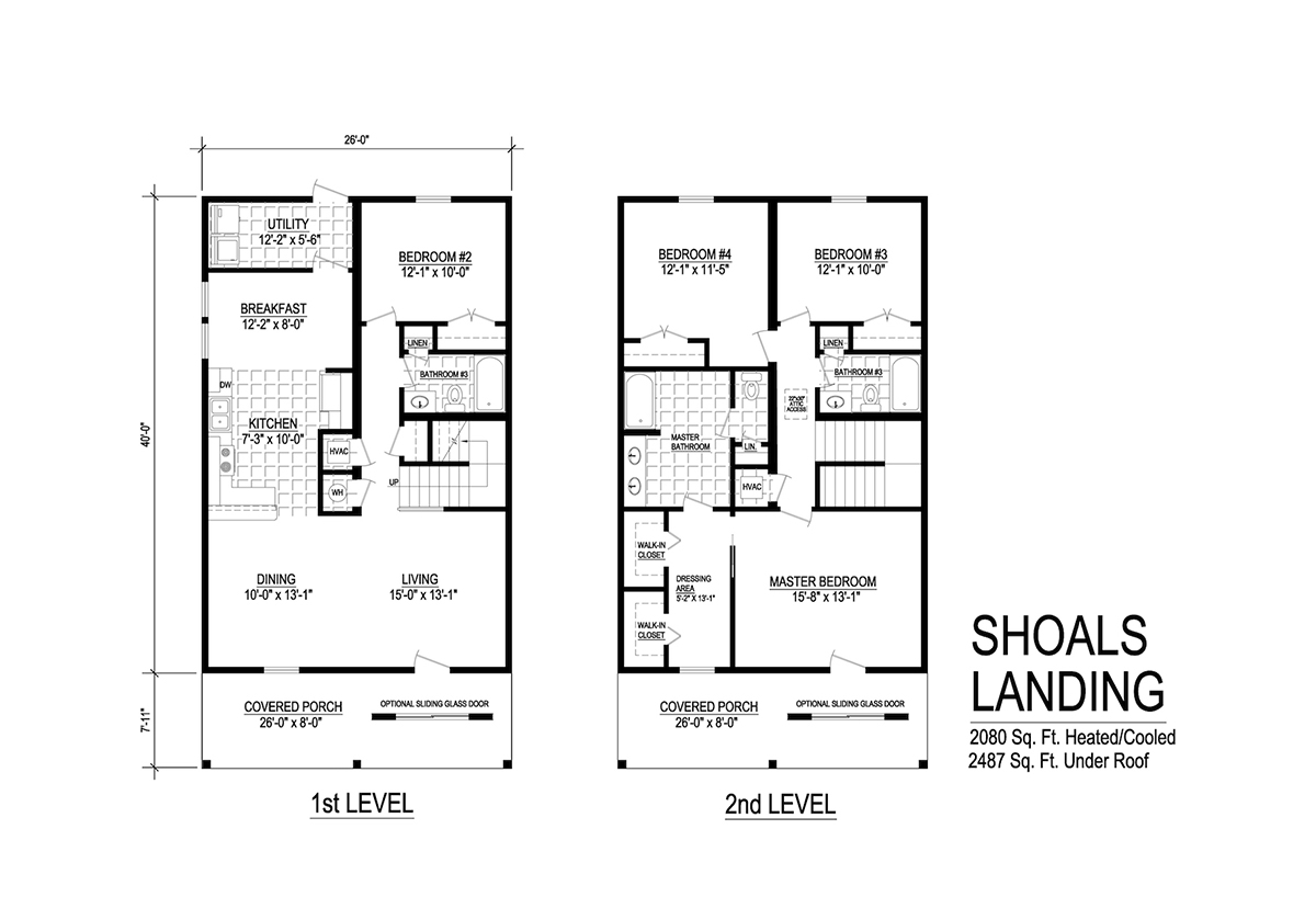 Two Story Collection - Shoals Landing