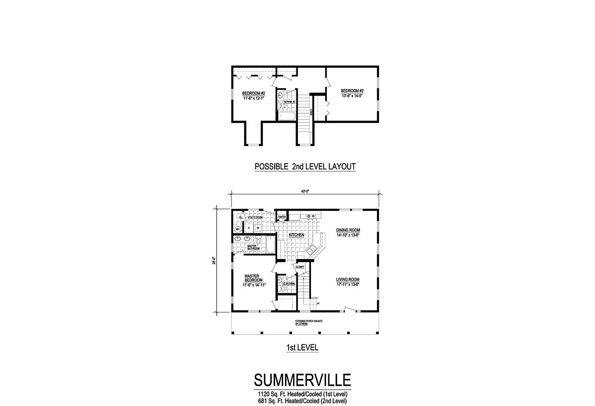 Cape Collection Summerville Layout
