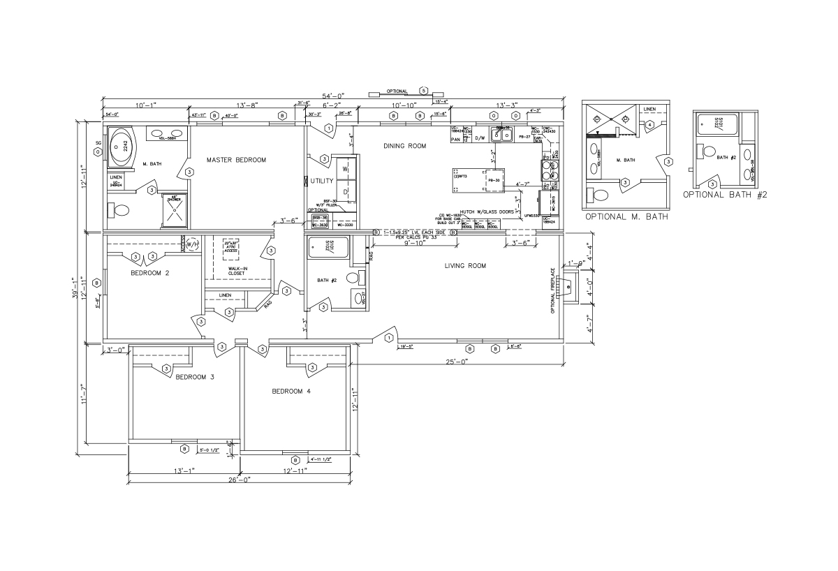 HBS Elite Collection Woodberry Layout