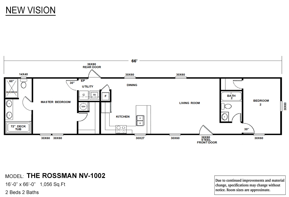 New Vision The Rossman Layout