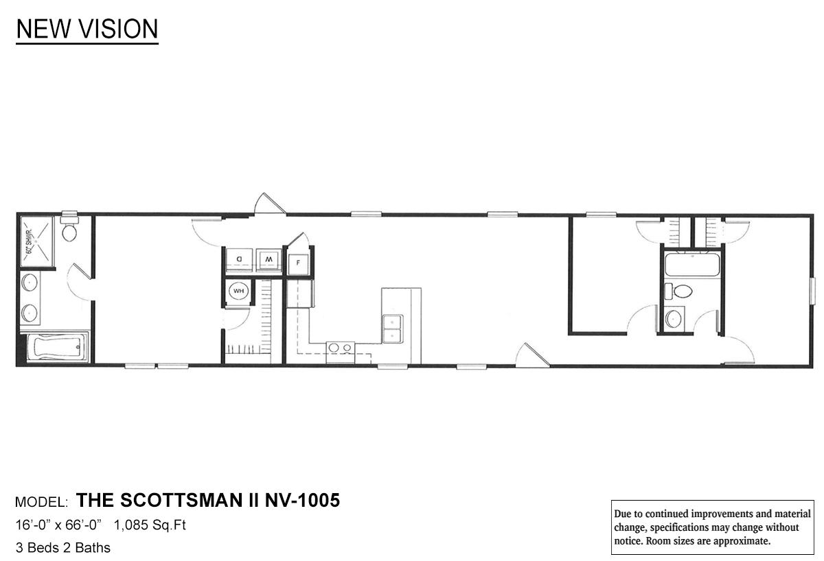 New Vision The Scottsman II Layout