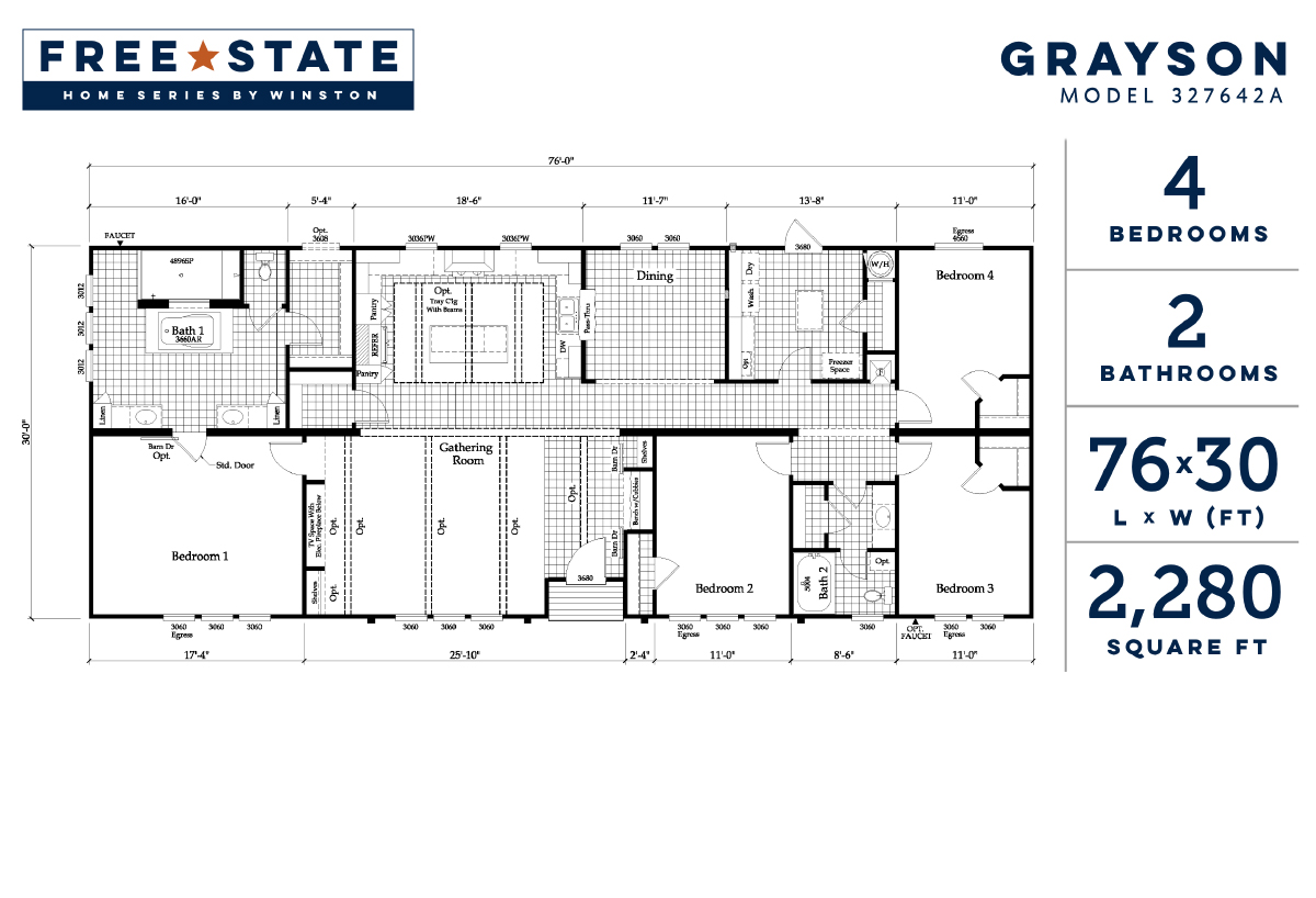 Free State - The Grayson 327642A