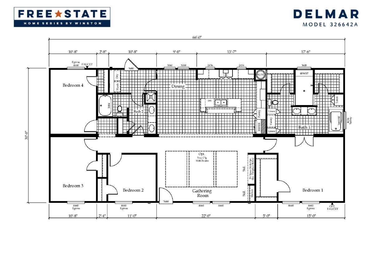Free State - The Delmar 326642A
