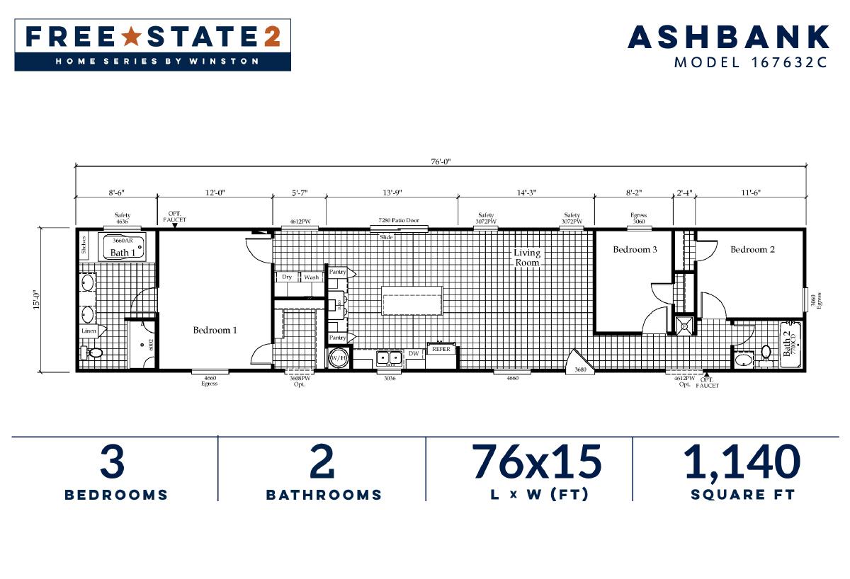 Free State 2 The Ashbank 167632C Layout
