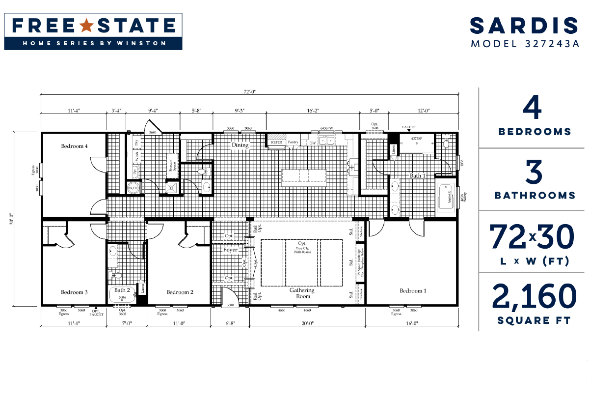 Free State - The Sardis 327243A