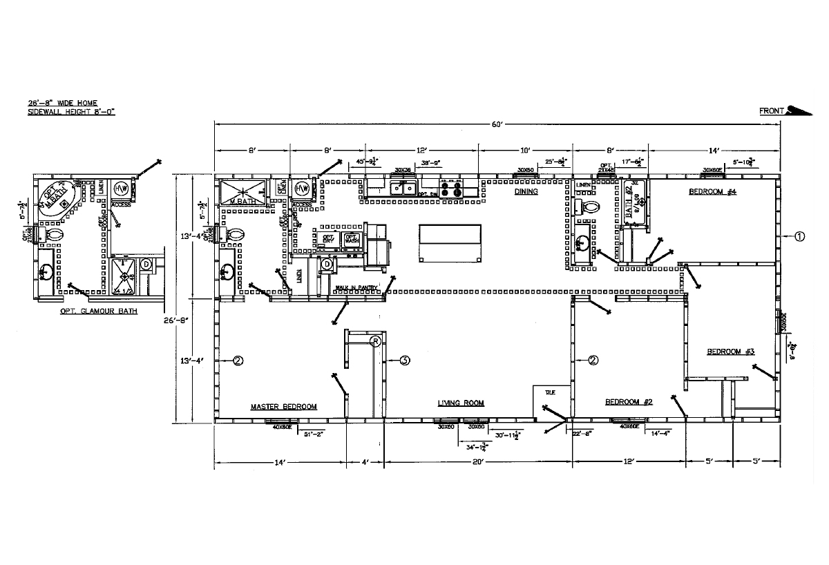 Price Point Series 28203P Layout