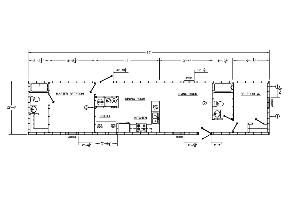 Price Point Series 1421-563 Layout